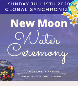 Water-Ceremony + Sister circle Voicing New Earth Home
