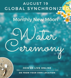 Monthly Water Ceremony for Peace