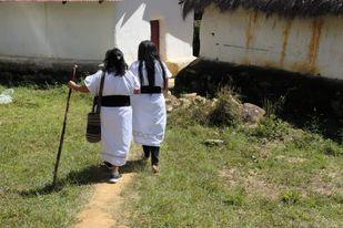 Indigenous women water walk