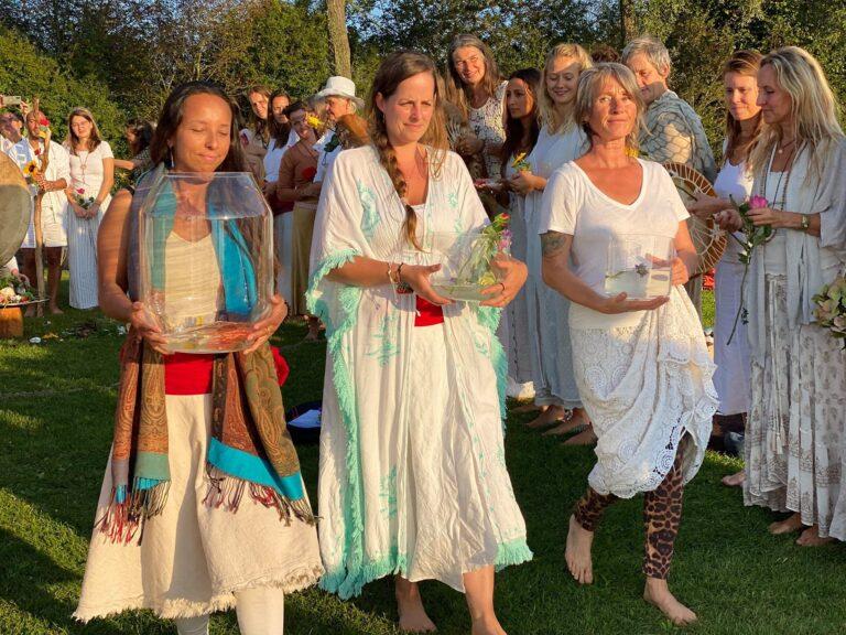 Patricia, Fee Flow & Aluna Omnium @ Equinox Water Ceremony